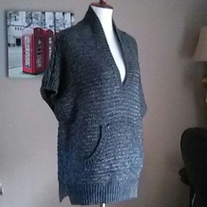 Rabecca Taylor Knit sweater top v neck sz S